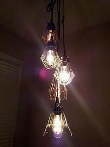 Steampunk Edison Bulb Pendant Chandelier