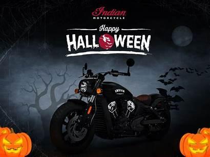 Halloween Motorcycle Indian Creative Dribbble Behance Visit