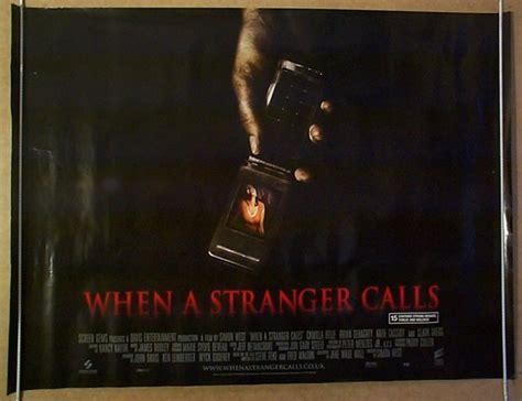 When A Stranger Calls (2006) Cinema Quad Movie Poster