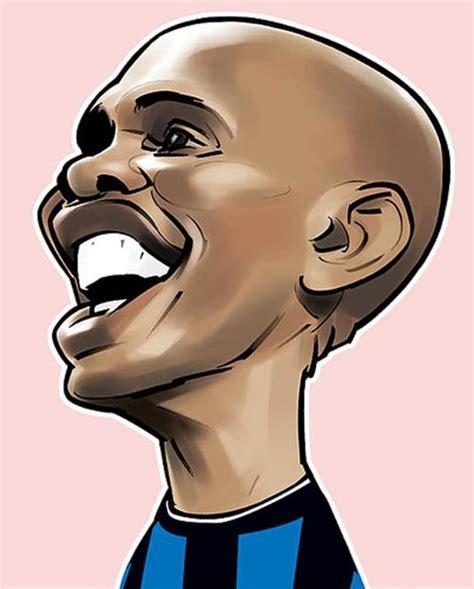 karikatur pemain bola sepak terkenal   comel