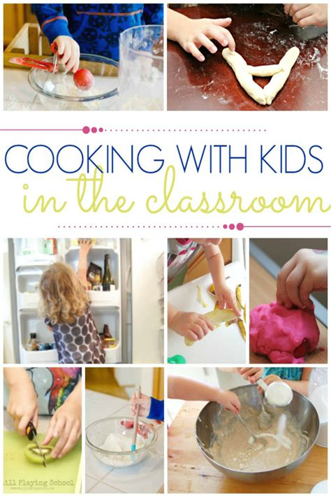 ideas and tips for cooking with preschoolers pre k pages 442 | cooking with kids in the classroom