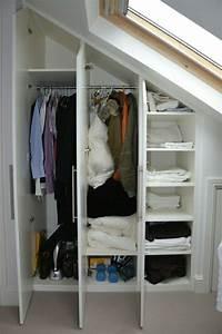 Begehbarer Kleiderschrank Selber Bauen Dachschräge : begehbarer kleiderschrank unter dachschr ge begehbarer ~ Watch28wear.com Haus und Dekorationen