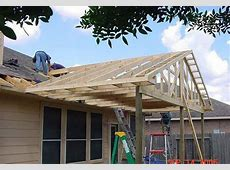 Building A Gable Pergola Attached To The House – Decor