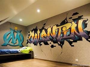 Deco Chambre Foot : deco chambre olympique de marseille ~ Dode.kayakingforconservation.com Idées de Décoration