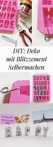 Tischleuchte Selber Basteln : 25 best basteln mit beton ideas on pinterest ~ Michelbontemps.com Haus und Dekorationen