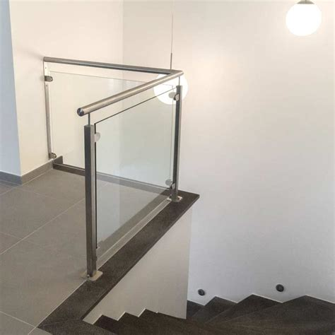 garde corps ext 233 rieur verre pose au sol inoxdesign