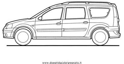 disegno dacia logan categoria mezzitrasporto da colorare