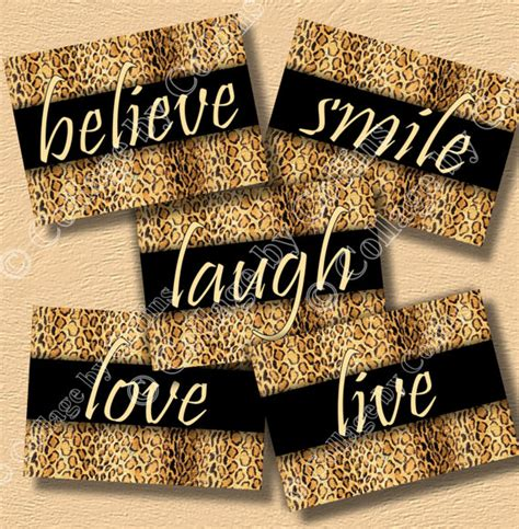 Cheetah Print Room Accessories by Cheetah Leopard Print Inspirational Wall Decor Room