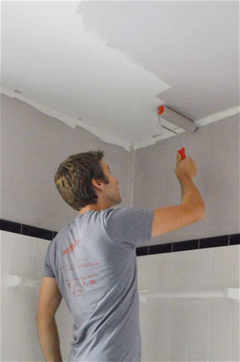 painting the bathroom house
