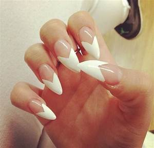 French Nails | via Tumblr - image #2604710 by KSENIA_L on ...