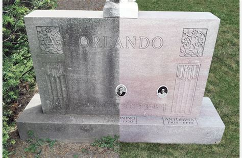 chicago cemetery gravestone cleaning maintenance services