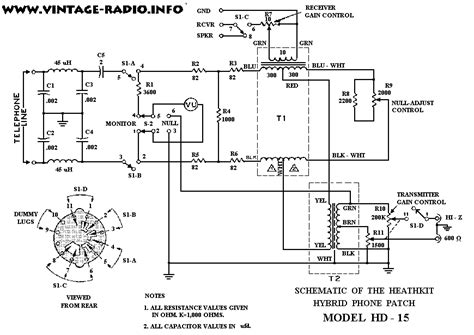 Channel Master Wiring Diagram by Wb4iuy S Manuals Schematics Page