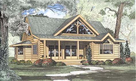 Log Cabin Home House Plans Blueprints For Log Cabin Homes