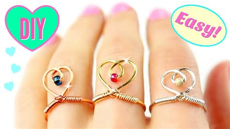 DIY Rings Adjustable & SUPER EASY DIY easy rings