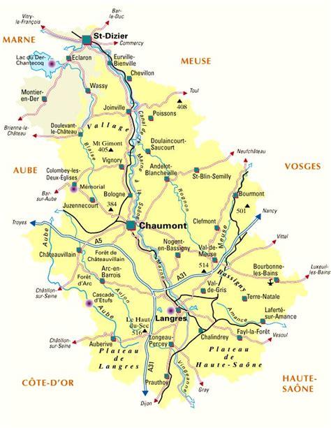 Carte De Le Gaulois 2010 Complete by Carte D 233 Partement Haute Marne D 233 Partement 52 Codes