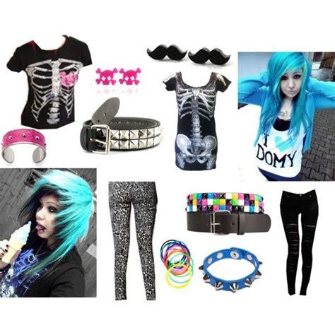 Emo outfit ideas by emokfh via Polyvore   My kinda style u0026 Christmas lisT   Pinterest   Her ...