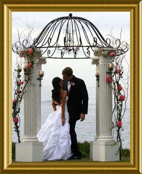 decoration de mariage exterieur quelques arches pour une d 233 coration de mariage en exterieur 192 d 233 couvrir