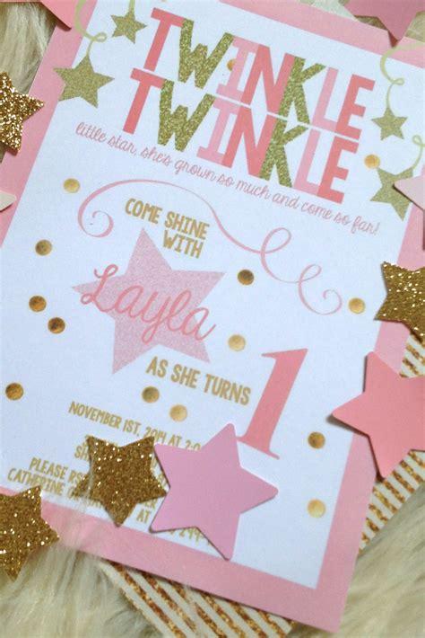 laylas pink gold twinkle twinkle  star st