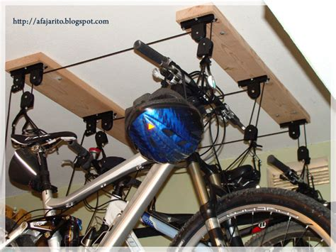 Ceiling Mount Bike Lift by Diy Installing A Ceiling Mount Bike Lift