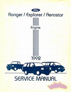 Diagram  1998 Ford Ranger Truck Service Shop Repair Set 2