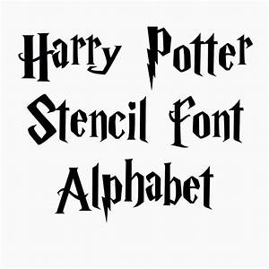 Harry potter stencil font full alphabet letters up to 4 for Harry potter letter stencils
