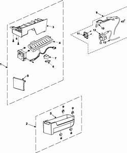 Refrigerators Parts  Ice Maker Parts