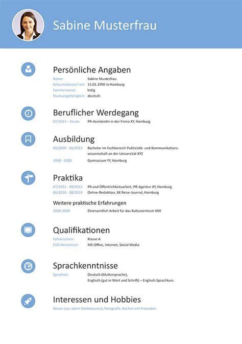 Lebenslauf Was Muss Rein 2016 by Best 25 Bewerbungsschreiben Muster Ideas On