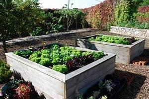 Carre De Jardin Potager : le potager carr ou potager sur lev facile ~ Premium-room.com Idées de Décoration