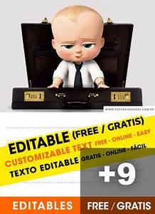 Dinosaurs Birthday Invitations Printable 9 Free The Boss Baby Birthday Invitations For Edit