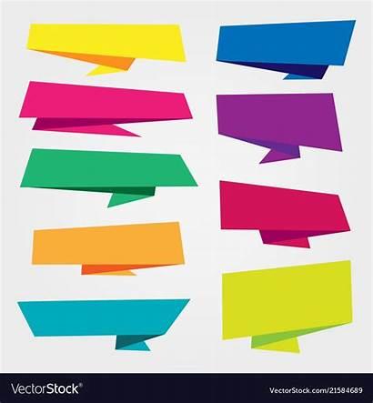 Banner Ribbon Label Tag Vector Frame Pattern