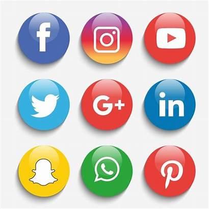 Social Icons Vector Illustrator Instagram Icon Whatsapp