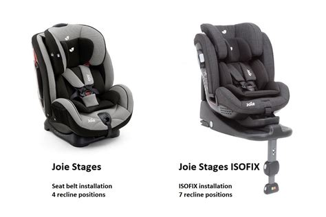 joie stages isofix car seat car seats  birth car