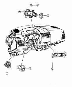 Chrysler 200 Switch  Pod  Seatselectronic  Seatsheadlamp