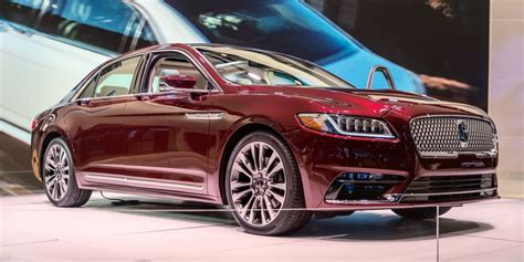 Pictures Of New Lincoln Continental by Lincoln Continental Will Cost 45 485 Business Insider