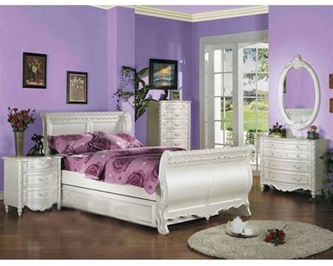 acme furniture bedroom set  pearl white actset