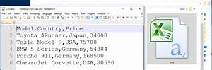 What Is Csv File. add a layer from a csv file get started ...