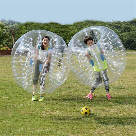 mm pvc  inflatable bubble soccer ball football