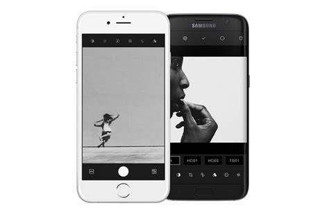 hypocam app  cool camera app  black  white photo