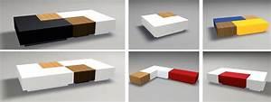 Table Basse Multifonction : ff design mobilier multifonctions composable table basse 4 ~ Premium-room.com Idées de Décoration