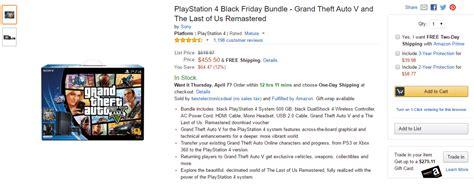 Gta V Ps4 Bundle Discounted On Amazon
