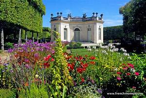 The Elegant French Pavilion In The Garden Of The Petit