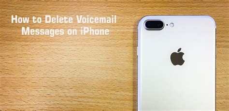 how to clear messages on iphone how to delete iphone voicemail messages