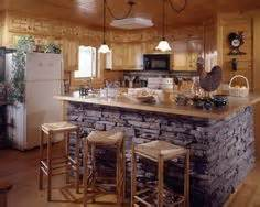 Kitchen Rock Island 1000 Images About Log Home On Log Cabin Modular Homes Small Cabins And Cabin