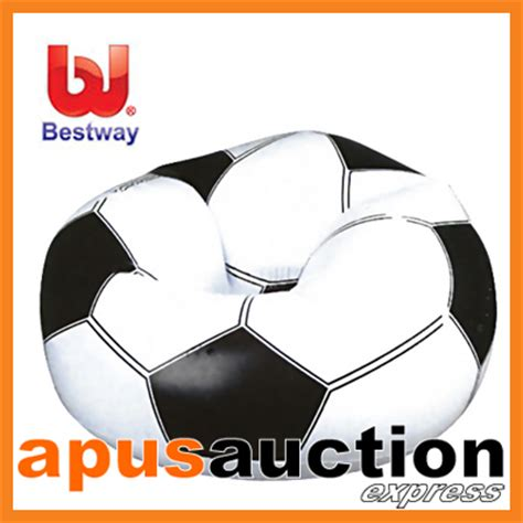 beanless bag chair australia bestway soccer chair football beanless bag sofa seat