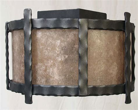 copper canyon cl rustic forged ceiling light rustic