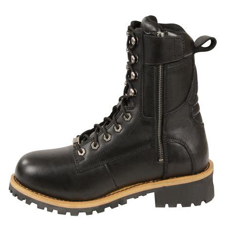 mens biker shoes mens black biker boots 28 images ikon leonardo mens