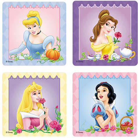 Stickers Princesse Disney Licensed Character Stickers Stickers Sold In Rolls Packs Giggletimetoys