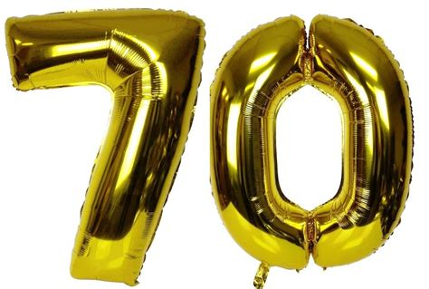 large 70th birthday anniversary number 40 quot large 70 gold number balloons 70th birthday