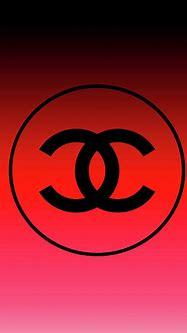 Chanel Logo Circle Red 1 Digital Art by Del Art