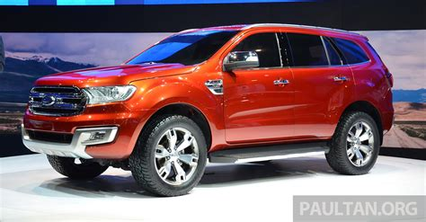 Ford Everest Concept Unveiled At Bangkok Motor Show
